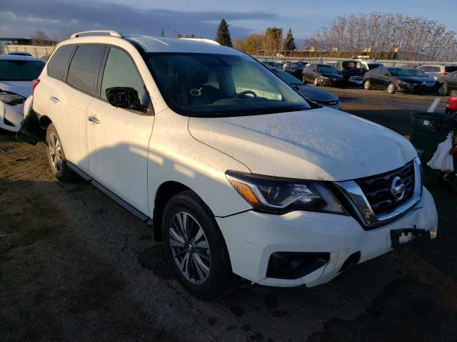 Nissan salvage cars for sale: 2018 Nissan Pathfinder