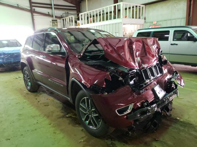 Vehiculos salvage en venta de Copart Longview, TX: 2020 Jeep Grand Cherokee