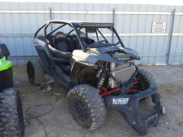 Salvage cars for sale from Copart Las Vegas, NV: 2017 Polaris RZR XP Turbo
