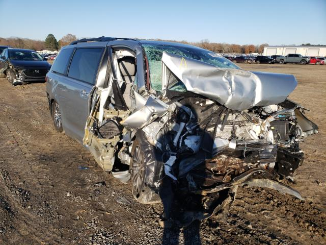Salvage cars for sale from Copart Conway, AR: 2019 Toyota Sienna XLE