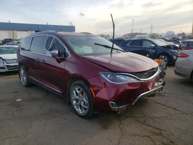 Salvage cars for sale from Copart Woodhaven, MI: 2017 Chrysler Pacifica L