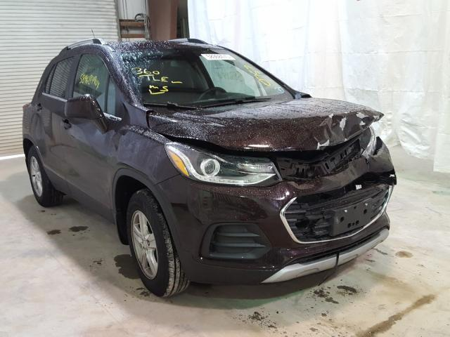 Salvage cars for sale from Copart Leroy, NY: 2020 Chevrolet Trax 1LT