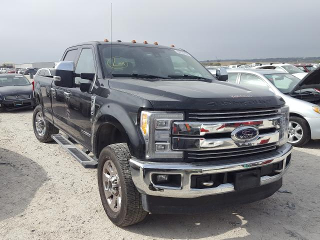Salvage cars for sale from Copart New Braunfels, TX: 2018 Ford F350 Super