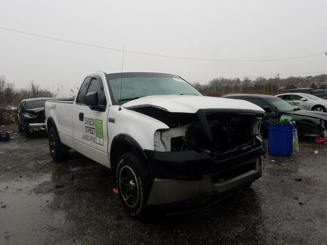 Salvage trucks for sale at Baltimore, MD auction: 2007 Ford F150