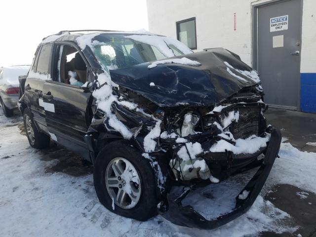 Honda Pilot EXL salvage cars for sale: 2005 Honda Pilot EXL