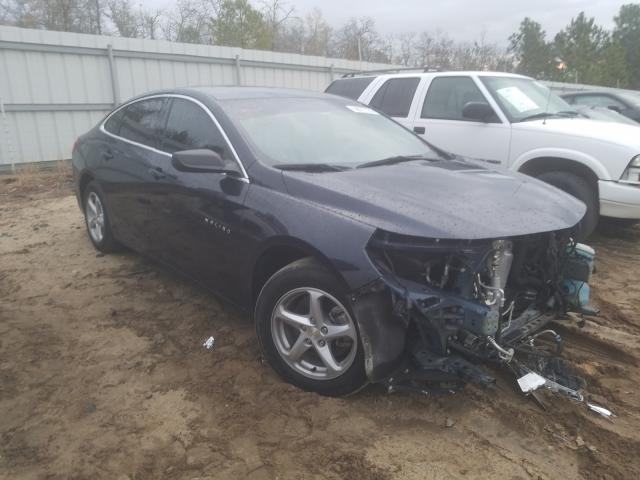 Salvage cars for sale from Copart Gaston, SC: 2017 Chevrolet Malibu LS
