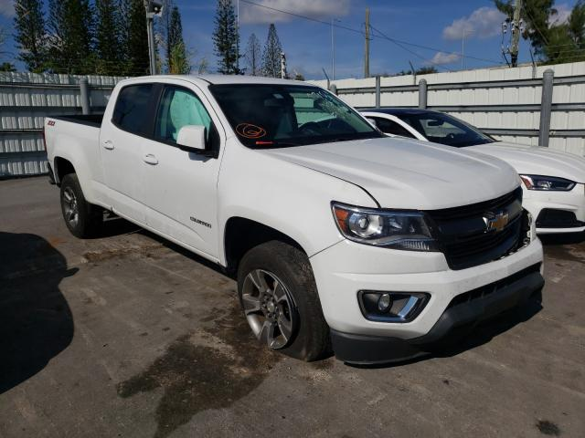 Vehiculos salvage en venta de Copart Miami, FL: 2018 Chevrolet Colorado Z