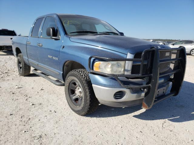 Salvage cars for sale from Copart New Braunfels, TX: 2002 Dodge RAM 1500