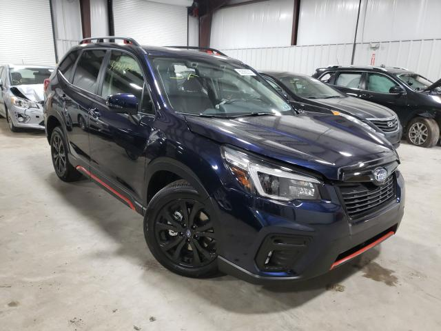 Salvage cars for sale from Copart West Mifflin, PA: 2021 Subaru Forester S