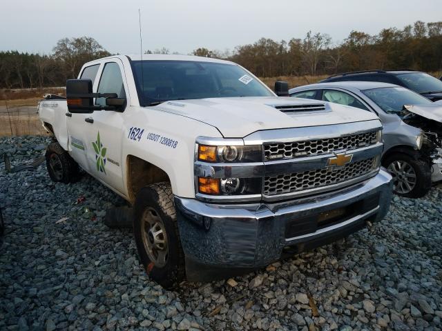 Salvage trucks for sale at Cartersville, GA auction: 2019 Chevrolet Silverado