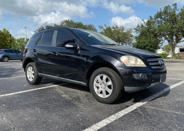 Salvage cars for sale from Copart Orlando, FL: 2007 Mercedes-Benz ML 350