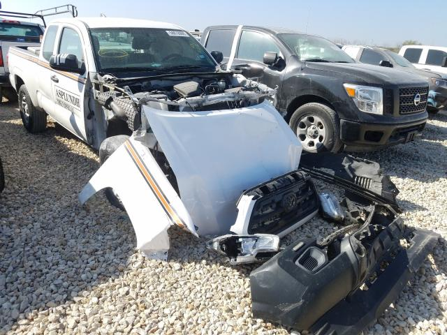Salvage cars for sale from Copart New Braunfels, TX: 2016 Toyota Tacoma ACC