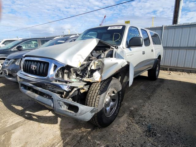 Salvage cars for sale from Copart Kapolei, HI: 2001 Toyota Tacoma DOU