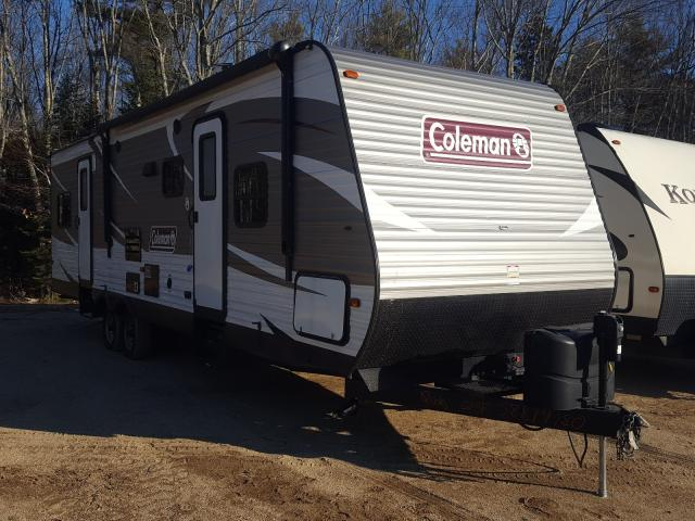 Salvage cars for sale from Copart Lyman, ME: 2017 Dutchmen Coleman