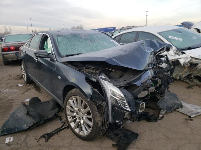 Cadillac CT6 salvage cars for sale: 2018 Cadillac CT6
