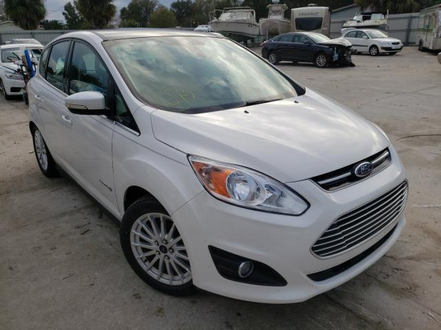 Salvage cars for sale from Copart Punta Gorda, FL: 2015 Ford C-MAX SEL