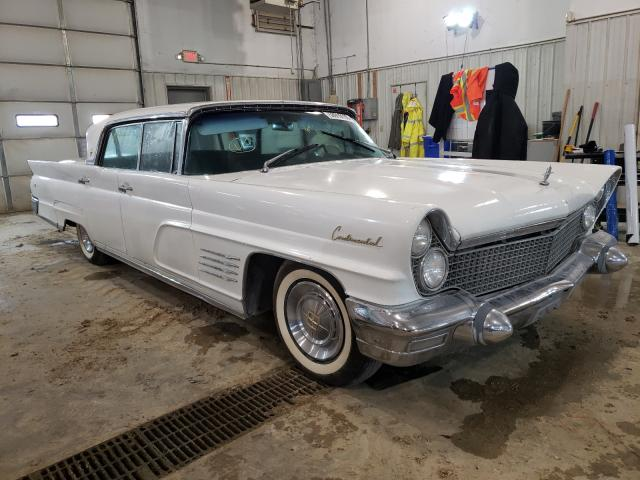 Salvage cars for sale from Copart Columbia, MO: 1960 Lincoln Mark V