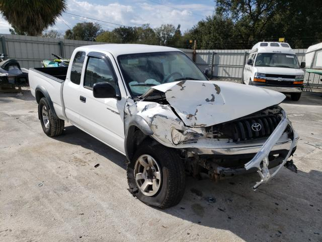 Salvage cars for sale from Copart Punta Gorda, FL: 2001 Toyota Tacoma XTR