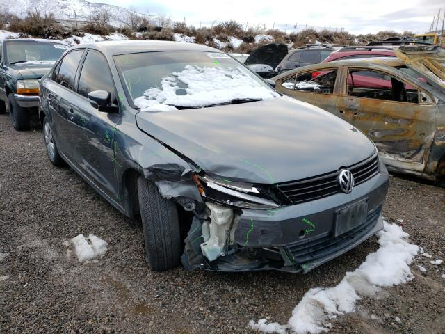 Salvage cars for sale from Copart Reno, NV: 2012 Volkswagen Jetta SE