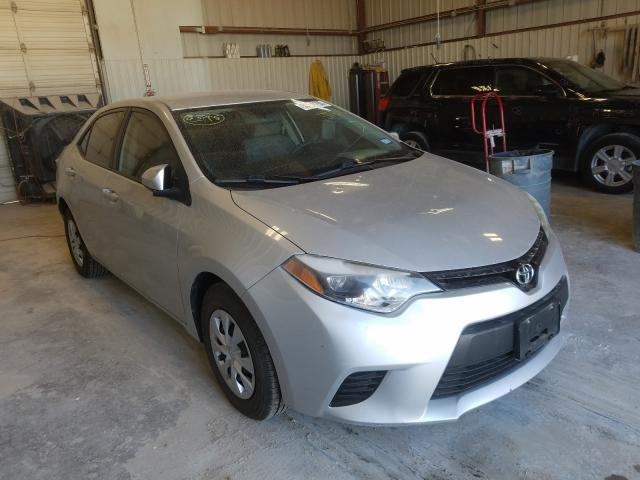 Salvage cars for sale from Copart Abilene, TX: 2015 Toyota Corolla L
