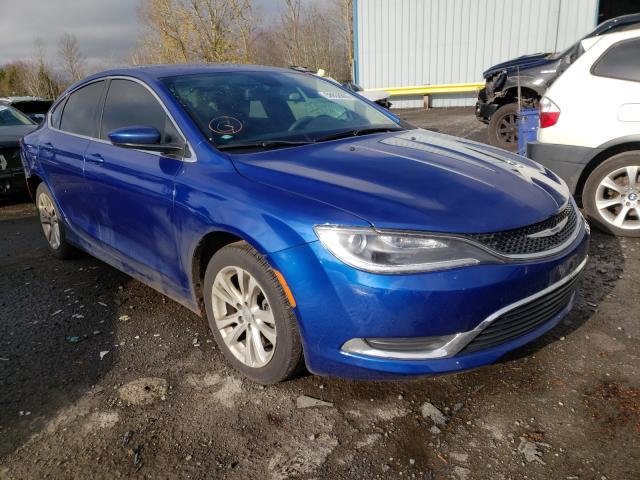 2015 Chrysler 200 Limite 2.4L