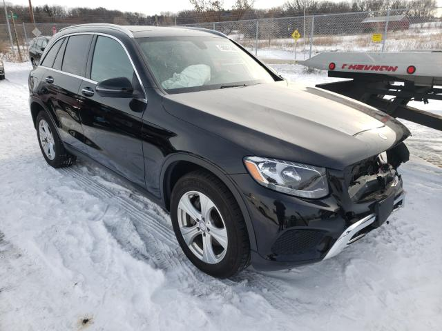 Salvage cars for sale from Copart Madison, WI: 2017 Mercedes-Benz GLC 300 4M