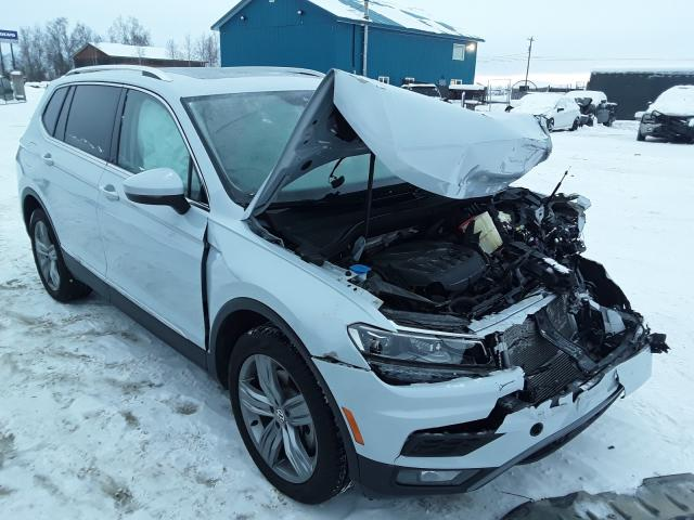 Salvage cars for sale from Copart Anchorage, AK: 2019 Volkswagen Tiguan SEL