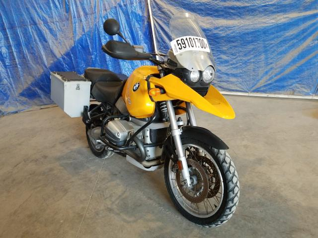 Salvage cars for sale from Copart Apopka, FL: 2002 BMW R1150GS