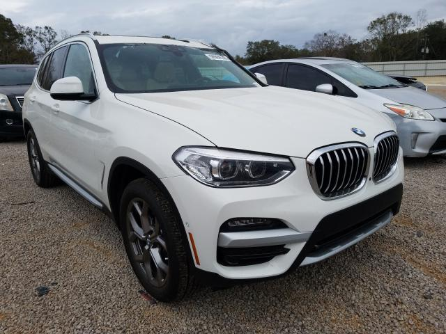 BMW X3 SDRIVE3 salvage cars for sale: 2021 BMW X3 SDRIVE3