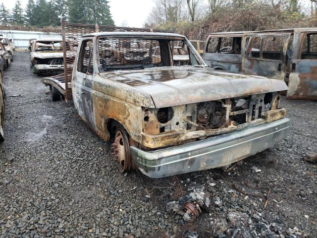 Ford F350 salvage cars for sale: 1990 Ford F350