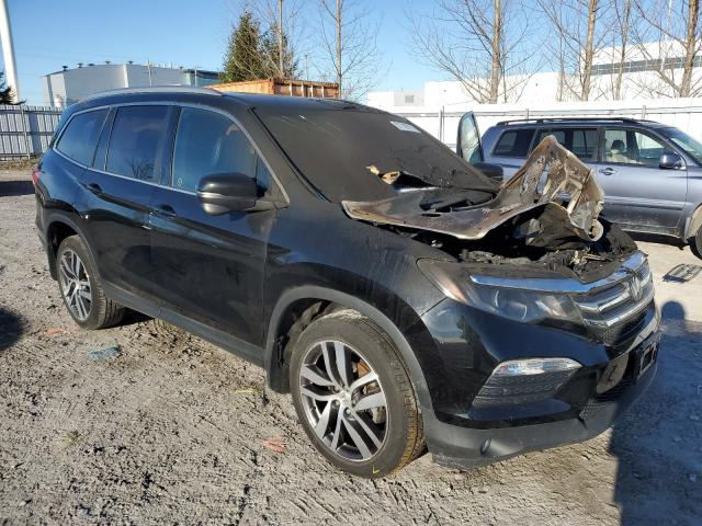 Honda Pilot EXL salvage cars for sale: 2017 Honda Pilot EXL