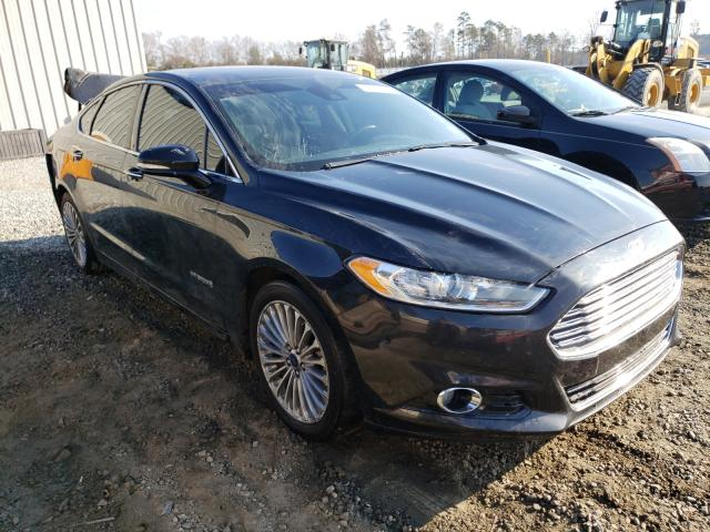 Salvage cars for sale from Copart Spartanburg, SC: 2013 Ford Fusion Titanium
