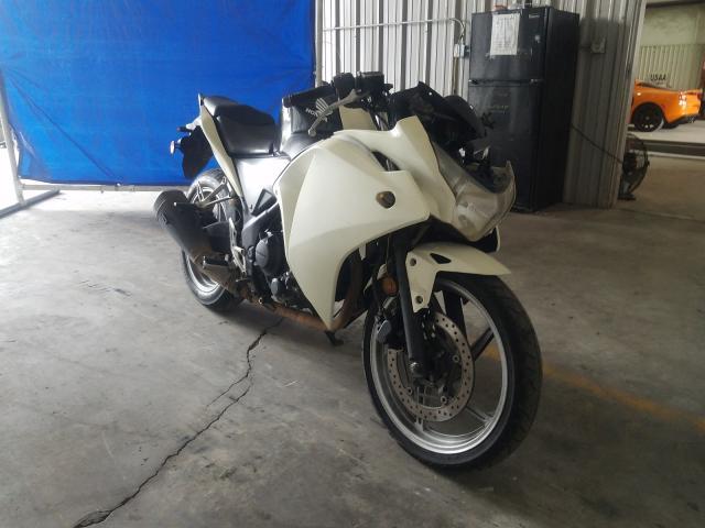 Honda salvage cars for sale: 2012 Honda CBR250 R
