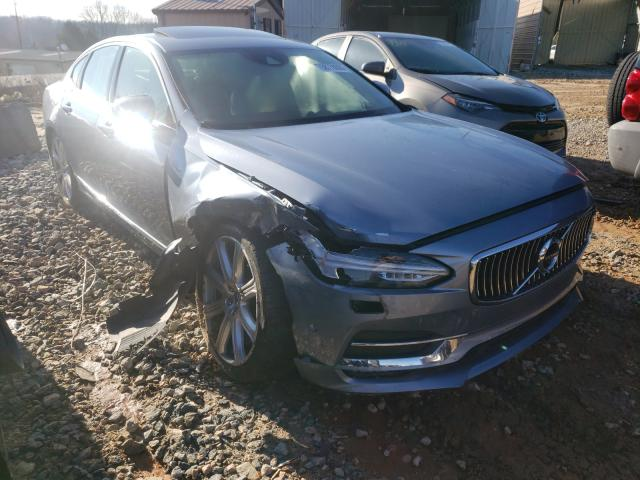 Salvage cars for sale from Copart China Grove, NC: 2017 Volvo S90 T6 INS