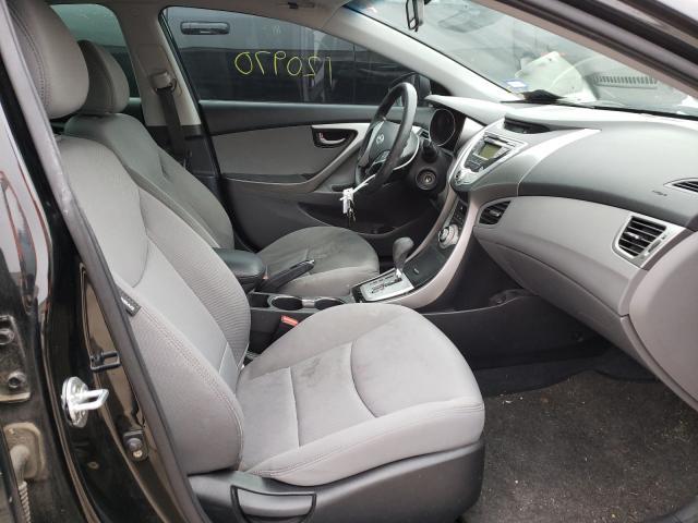 пригнать из сша 2012 Hyundai Elantra Gl 1.8L KMHDH4AE4CU231374