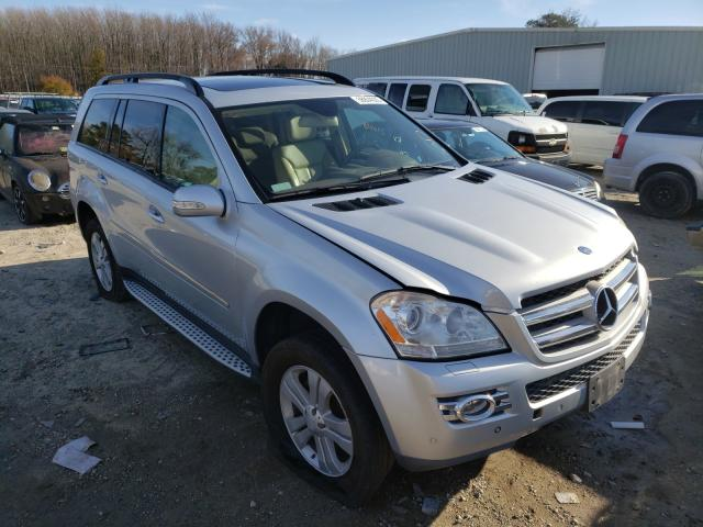 Salvage cars for sale from Copart Hampton, VA: 2007 Mercedes-Benz GL 450 4matic
