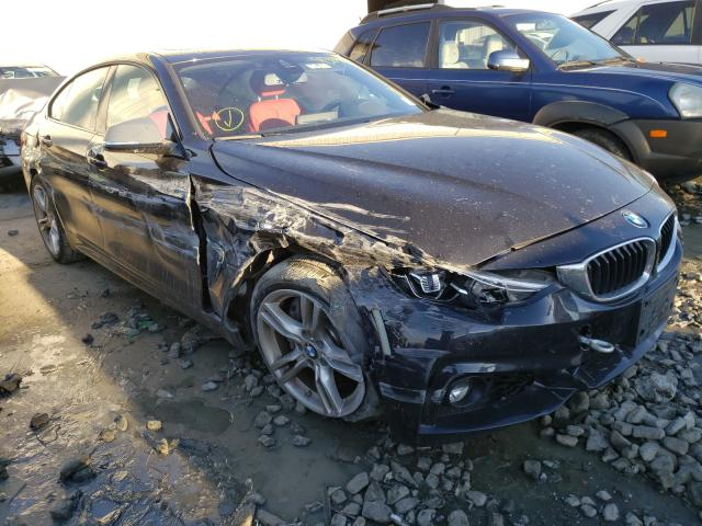 Salvage cars for sale from Copart Windsor, NJ: 2019 BMW 440XI Gran Coupe