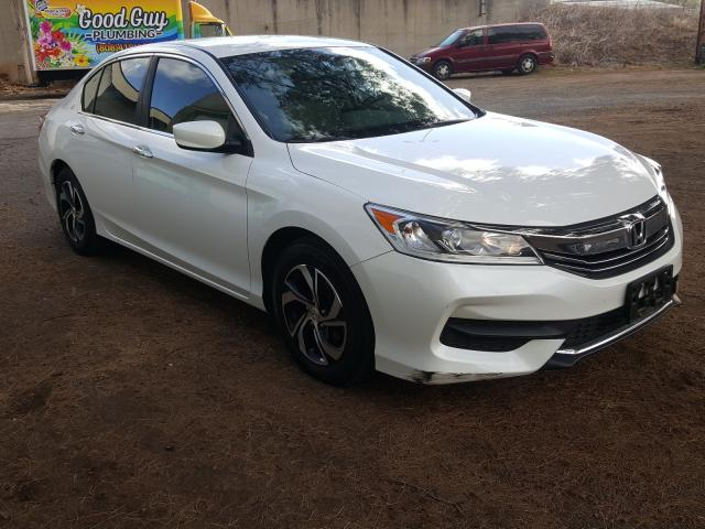 Salvage cars for sale from Copart Kapolei, HI: 2017 Honda Accord LX