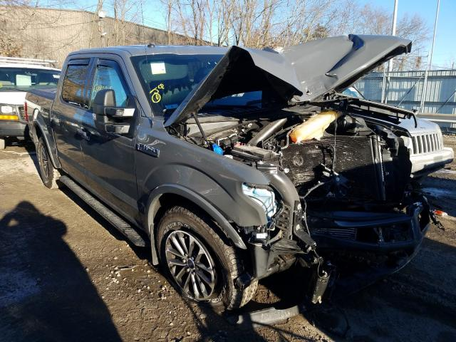 Vehiculos salvage en venta de Copart North Billerica, MA: 2018 Ford F150 Super