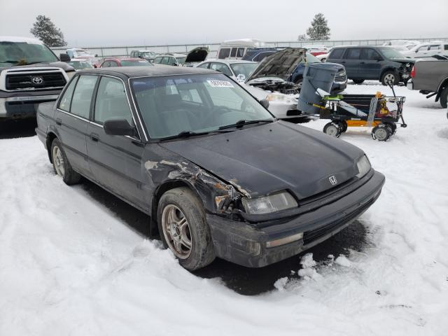 Salvage cars for sale from Copart Airway Heights, WA: 1990 Honda Civic EX