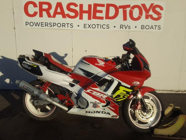 Salvage cars for sale from Copart Van Nuys, CA: 1996 Honda CBR600 F3