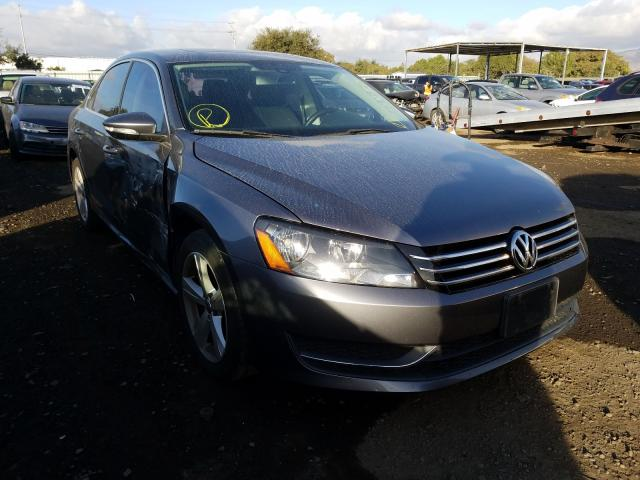 Volkswagen salvage cars for sale: 2012 Volkswagen Passat SE