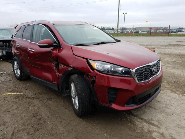 Salvage cars for sale from Copart Indianapolis, IN: 2020 KIA Sorento L