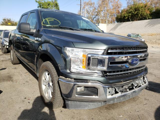 Salvage cars for sale from Copart Colton, CA: 2018 Ford F150 Super