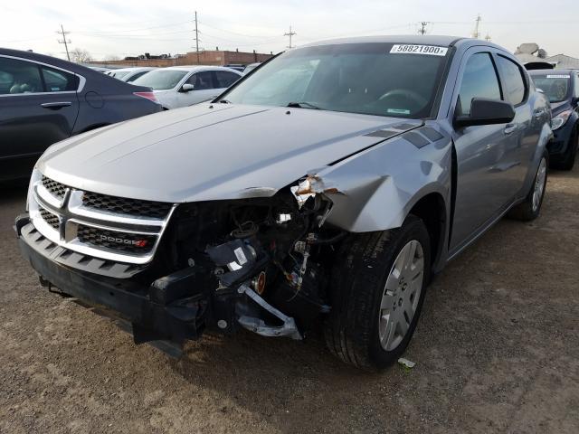 из сша 2014 Dodge Avenger Se 2.4L 1C3CDZABXEN215891