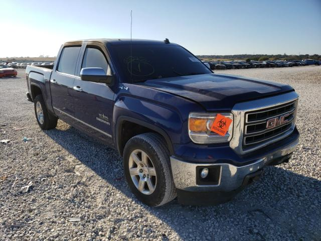 Salvage cars for sale from Copart New Braunfels, TX: 2014 GMC Sierra K15