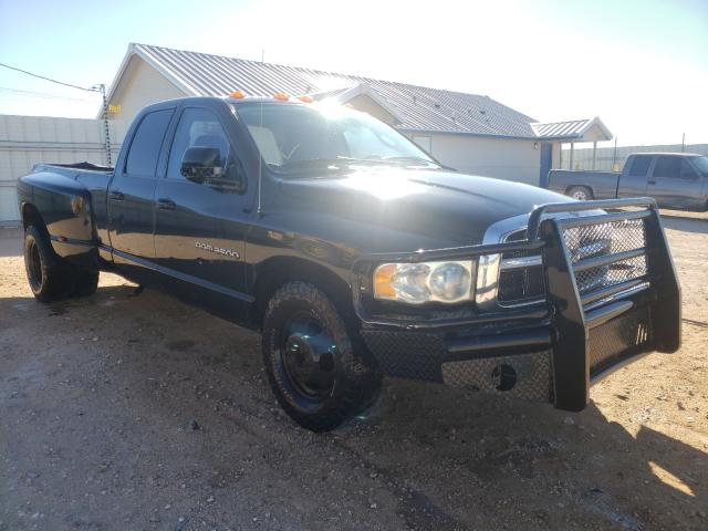 Salvage cars for sale from Copart Andrews, TX: 2003 Dodge RAM 3500 S