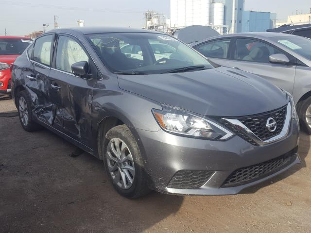 Salvage cars for sale from Copart Chicago Heights, IL: 2019 Nissan Sentra S