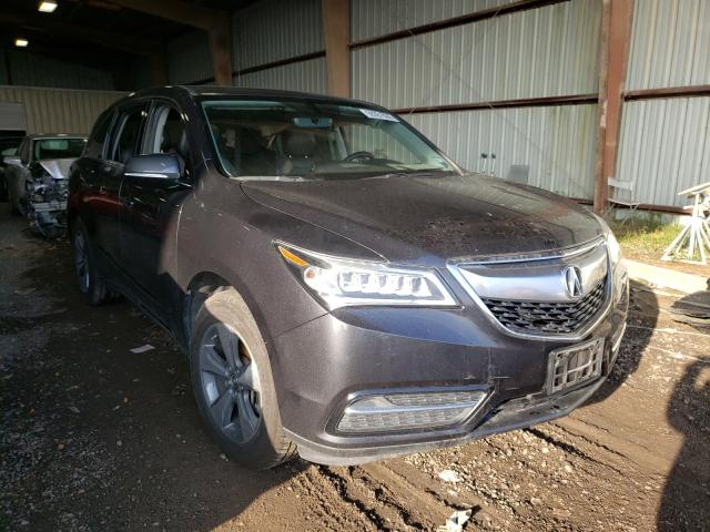 Vehiculos salvage en venta de Copart Houston, TX: 2016 Acura MDX