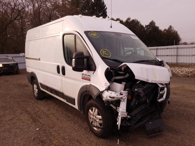 Salvage cars for sale from Copart London, ON: 2018 Dodge RAM Promaster